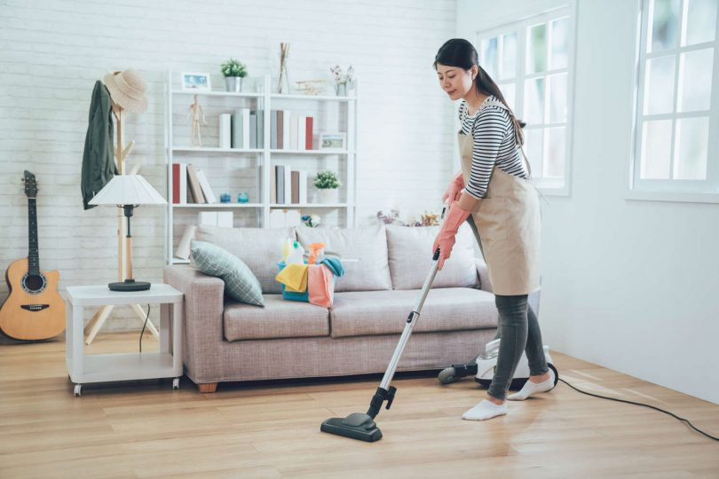 faire le ménage plus rapidement