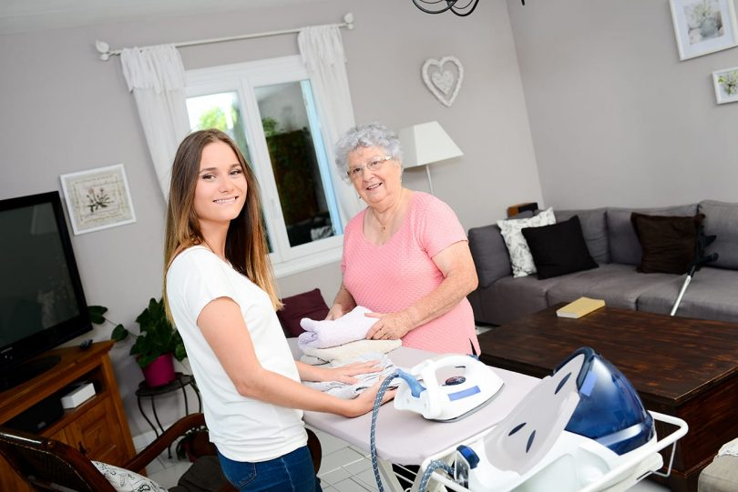 prestations d'une aide à domicile