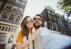 couple en Amsterdam